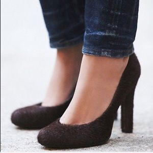 free people x jeffrey campbell cow hair pumps
